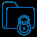 иконка файлов под защитой