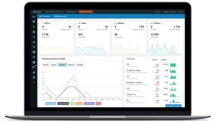 Интеграция с системой аналитики покажет стоимость привлечения клиентов