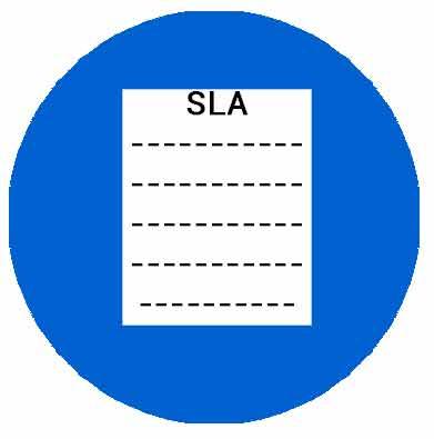 Работа по SLA